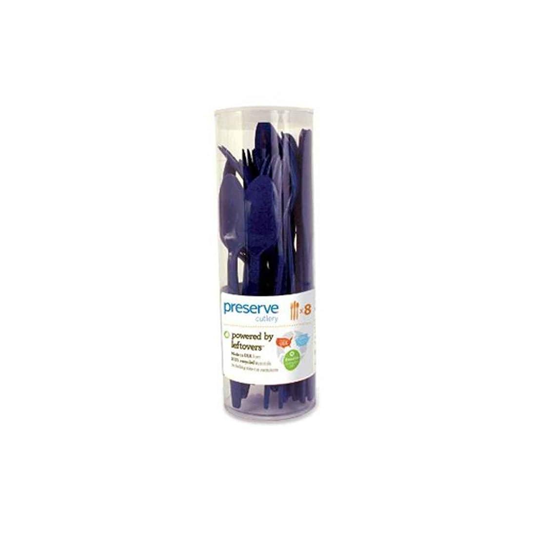 エジプト足枷添加剤Preserve Cutlery (8 Set) - Midnight Blue 24 Pack(S) by Preserve