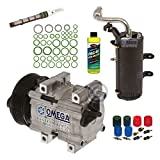 New AC A/C Compressor Kit Fits: 1999 2000 2001 2002 2003 Ford F250 F350 F450 F550 V8 7.3L Turbocharged Diesel ONLY!