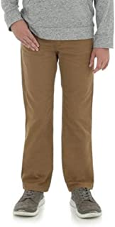 Wrangler Boys Slim Straight Flex Khaki Jeans Little Boys, Big Boys