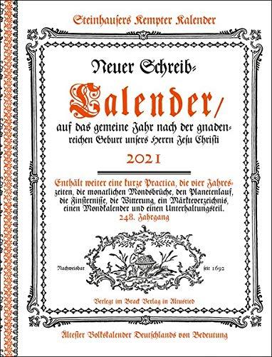 Steinhausers Kempter Kalender 2021