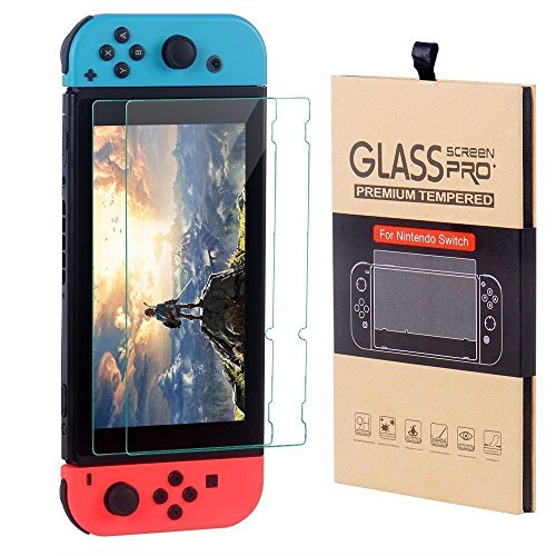 CSL-TECH Screen Protector For Nintendo Switch 2 PACK Tempered Glass Screen Protector Premium Anti Scratch Clear HD 6.2 inch Tablet Iowa