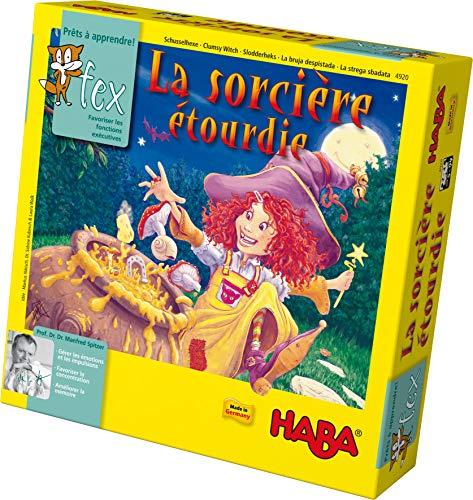 HABA-La sorcière étourdie, 4920, Coloré