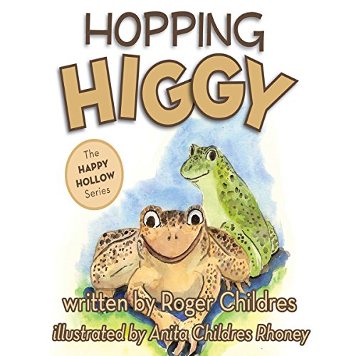 Hopping Higgy audiobook cover art