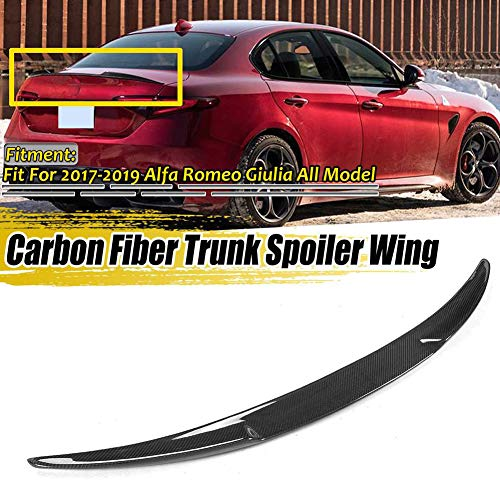 SODIAL Fibra di Carbonio per Alfa Romeo Giulia 2017 2018 ABS Plastic Center Center Console Air Conditioning Vent Frame Trim