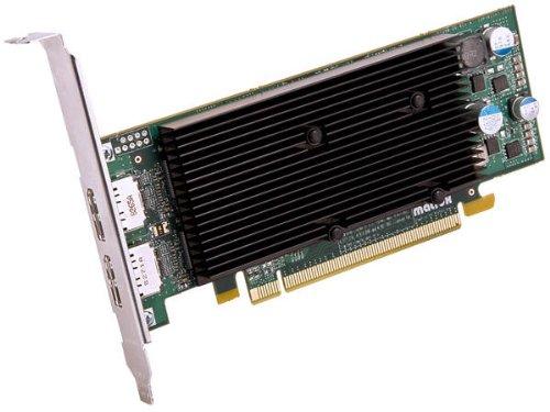 Matrox M9128 LP Grafikkarte (PCI-e, 1GB, DDR2 Speicher)