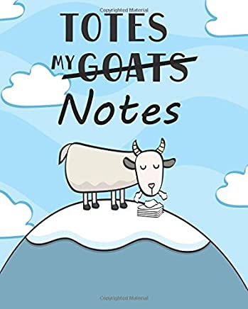 Totes My (Goats) Notes Sketchbook