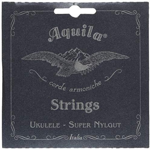 Aquila 106U Tenor-Ukulele-Satz, Super Nylgut, Standard Stimmung, Key of C, GCEA, Ivory, Tenor High G