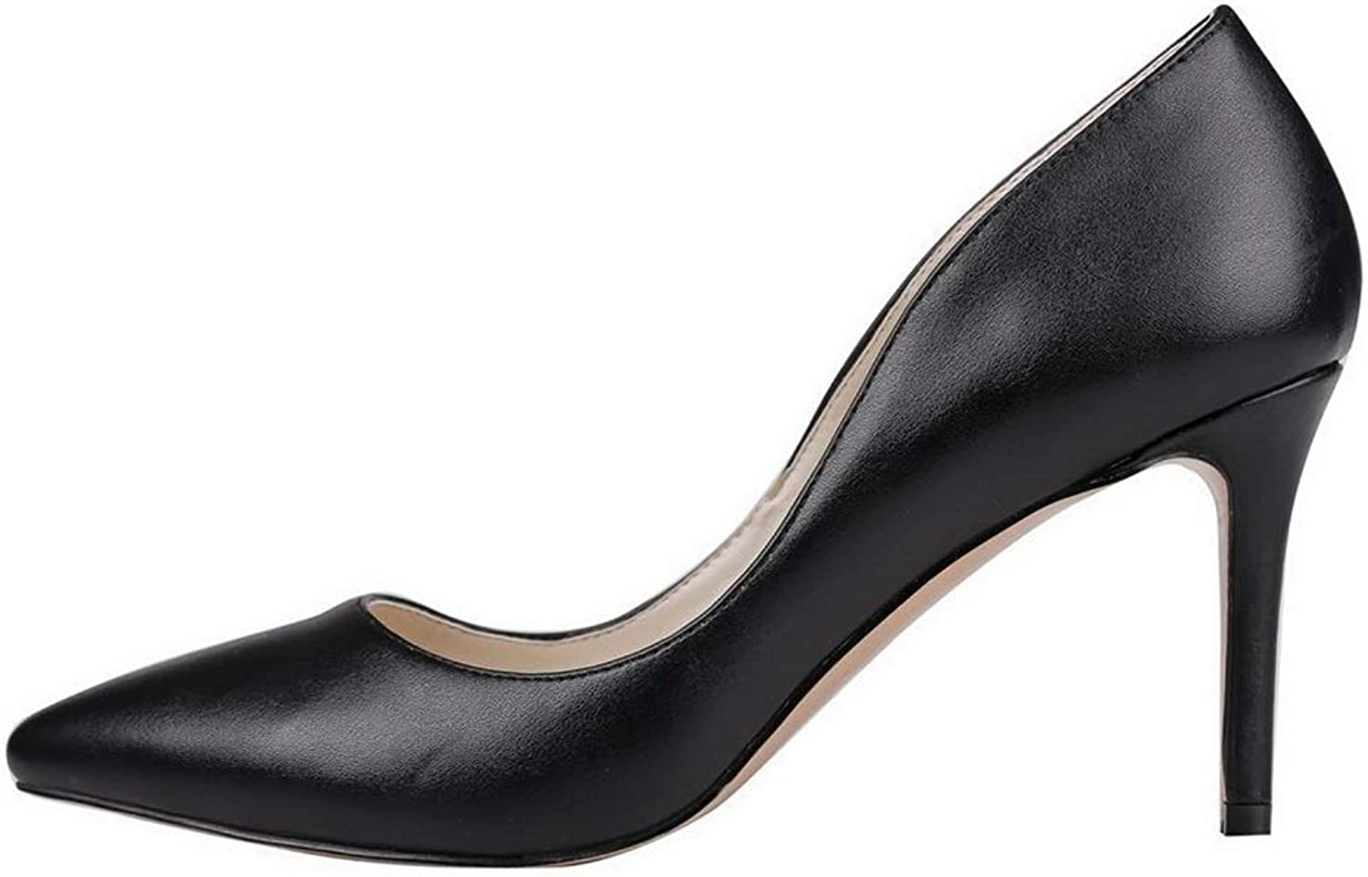 AdeeSu Womens Solid Novelty Business Urethane Pumps shoes SDC06305