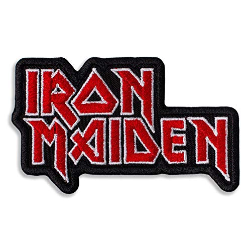 Iron Heavy Metal Band Embroidered Patch Iron On (3 x 1.9 inches)