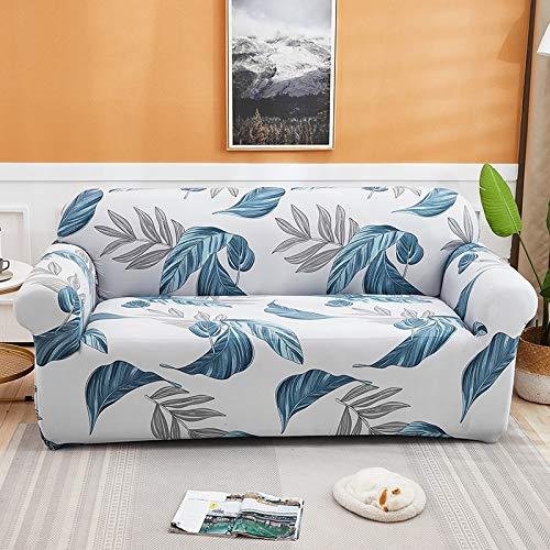 ASCV Bedruckte Sofabezugabdeckungen im Tintenstil für elastische Stretchbezüge im Wohnzimmer mit Schnittsofaabdeckungen A8 1-Sitzer