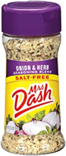 Mrs. Dash ONION & HERB Salt-Free Seasoning 2.5oz (6-pack)