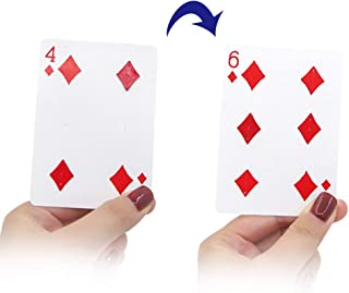 OUERMAMA Fantastic Changing Point 4 to 6 by Shaking Hand with Very Short Time Poker Magic Tricks Gimmick Illusion Magic Props ( Video Tutorial Included )