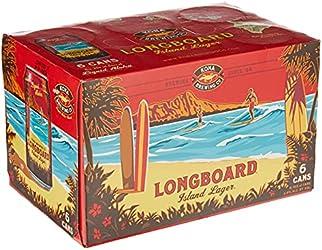 Kona Longboard Hawaiian Lager Can, 6 x 355ml