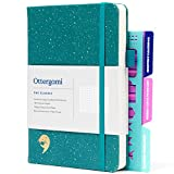 Bullet Cuaderno A5 Journal   150gsm Papel Libreta A5   Libretas Bonitas Puntos con Plantillas Extra   The Classic por...