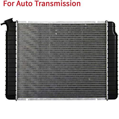 YY HEAITH – Radiador de aluminio y plástico para Chevy GMC C/K R/V G10 G20 G30 4.3 L V6