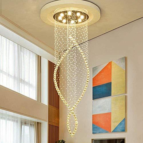 Office kroonluchter Chandelier Downlight gegalvaniseerde Metal Crystal, Lamp inbegrepen, Designers 110-240V Warm White Lamp inbegrepen Onderzoek kamer kroonluchter