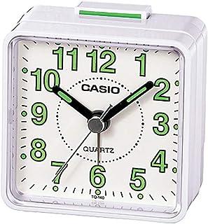 Casio TQ-140-7DF Alarm Clock, Grey