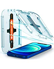 Spigen EZ Fit Tempered Glass Screen Guard for iPhone 12 and for iPhone 12 Pro - 2 Pack