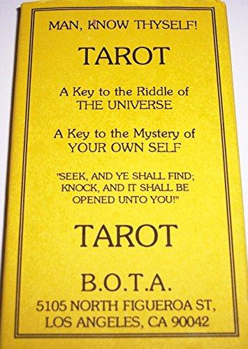 Bota (Builders of the Adytum) Tarot Deck by Builders of the Adytum (1-May-1991) Cards