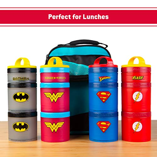 Product Image 3: Whiskware Justice League Stackable Snack Pack, Superman