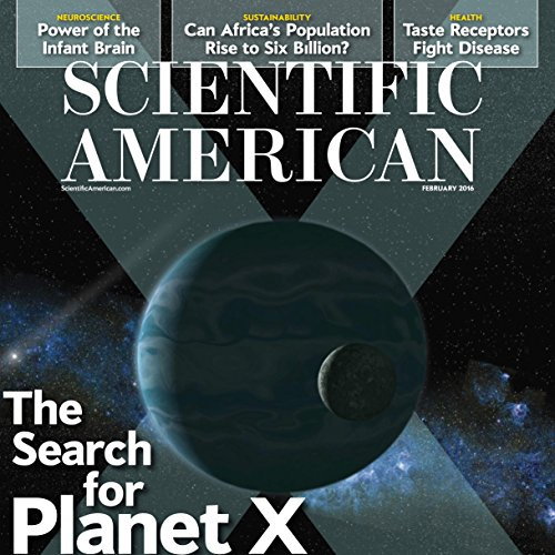 Scientific American, February 2016 audiobook cover art