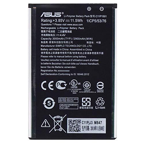 Batteria originale ASUS C11P1501 3000mAh ZenFone 2 ZE500CL Laser ZE551KL ZE601KL