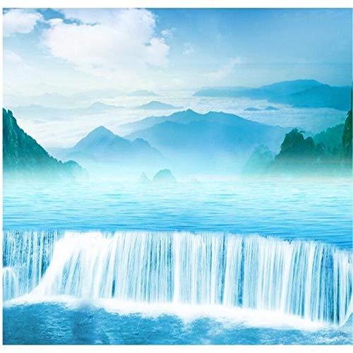 Hintergrundbild 3D Wallpaper Wohnzimmer Kundenspezifische großformatige Wandbilder hochauflösendes Wasser Health Treasure Töpfe Hintergrundwand Vlies Tapete