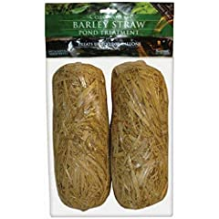 The original and best selling barley straw pond treatment from summit Keep your pond water clean and clear year-round Clear your pond, fountain and fish tank naturally Acts as a natural filter to keep your pond clean and clear Each bale treats 1000 g...