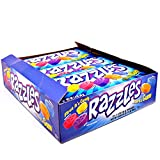 Original Razzles Candy/Gum, Box of 24 1.4-Ounce Bags