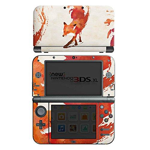 DeinDesign Skin kompatibel mit Nintendo New 3DS XL Folie Sticker Fuchs Graphic