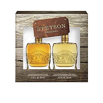 Stetson Original 2-Piece Decanter Set with 2-Ounce Cologne and 2-Ounce Aftershave Total Retail Value $45.00