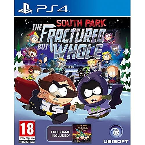 Ubisoft South Park: The Fractured but Whole, PS4 Básico PlayStation 4 vídeo - Juego (PS4, PlayStation 4, RPG (juego de rol), M (Maduro))