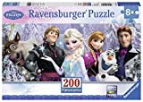 Ravensburger Disney Frozen Friends Panorama 200 Piece Jigsaw Puzzle for Kids – Every Piece is Unique, Pieces Fit Together Perfectly