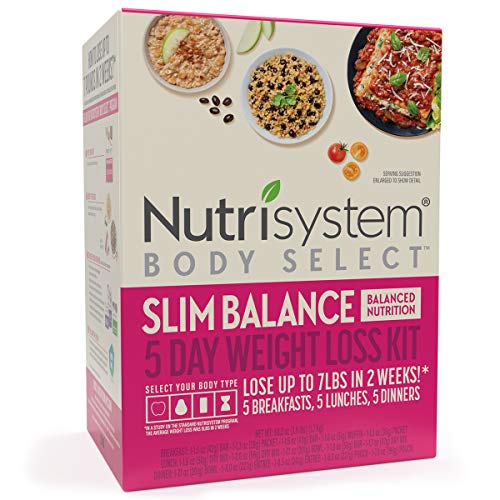 Nutrisystem® Body Select™ Slim Balance 5-Day Weight Loss Kit: Delicious Meals with Balanced Nutrition