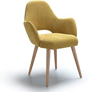 Marca Amazon -Alkove Andre - Butaca de diseño (amarillo)