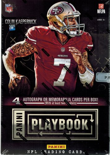 2013 Panini Playbook Football box (1 pk HOBBY)