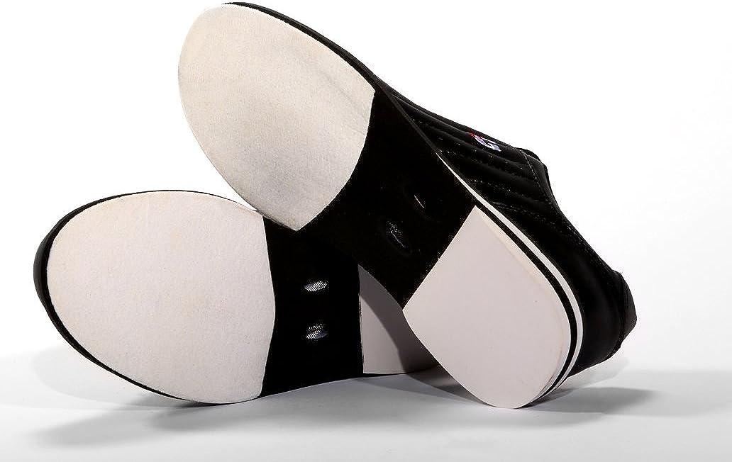 3G Kicks White/Black Unisex Bowling Shoes, Size