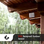 Thermopro tx-2 fitting rainproof transmitter additional outdoor sensor for thermopro tp60s/tp62/tp65a/tp67a series… 10 universal outdoor sensor is compatible with all thermopro indoor outdoor thermometer hygrometer -- tp60s/tp62/tp65a/tp67a; accessory only, can not be used alone with additional remote sensors, track environmental conditions in 4 locations at most; the sensor's initial channel is channel one, when connecting, please ensure to slide button on the back to set channel 1, 2 or 3 place anywhere with the tabletop and wall mountable design; requires 2 aaa batteries (batteries included)