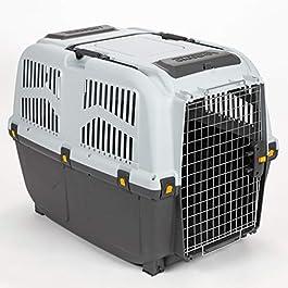 Skudo 6 Airline Approved Dog Carrier, Large, Grey