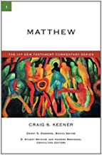 Matthew (The Ivp New Testament Commentary Series)