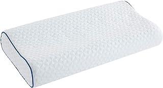 HOMBYS Memory Foam Pillow for Sleeping, Contour Memory Foam Pillow for Side, Back, Stomach Sleepers, Neck Support Pillow C...