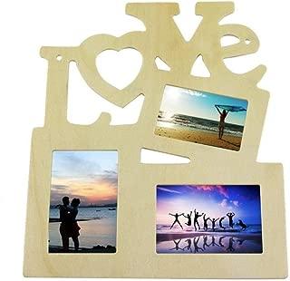 Nuevos marcos de la familia, el amor creux madera atractiva,color,formato