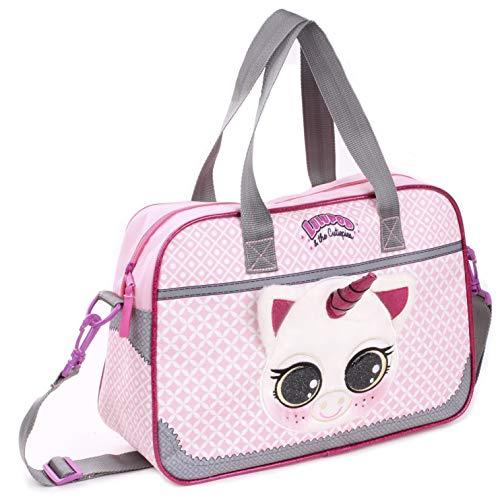 Lulupop & the Cutiepies Animals Schulrucksack, 38 cm, 12 liters, Pink (Unicorn)