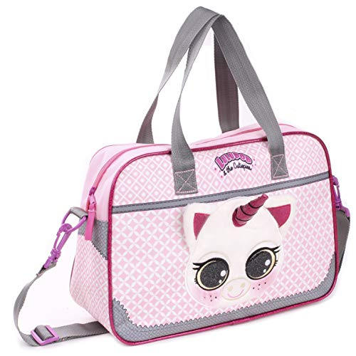 Lulupop & the Cutiepies Animals Schulrucksack, 38 cm, 12 liters, Pink (Unicorn)