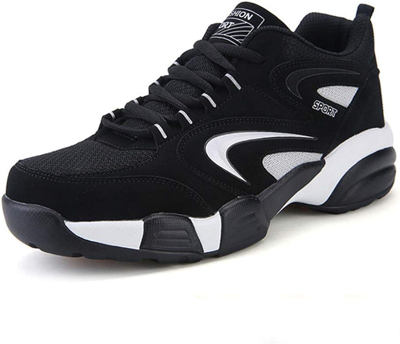ZHRUI Men and Women Winter Thermal Sport shoes Winter Black Fur Sport (color   Black Mesh, Size   12=48 EU)