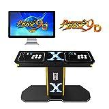 TAPDRA Pandora's Box 9D Vintage Retro Arcade Cabinet Machine con 2222 Juegos 2 Jugadores Joystick HDMI y VGA 1280x720P...