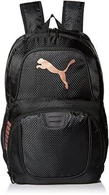 PUMA Men's Evercat Contender 3.0 Backpack, black/gold, One Size