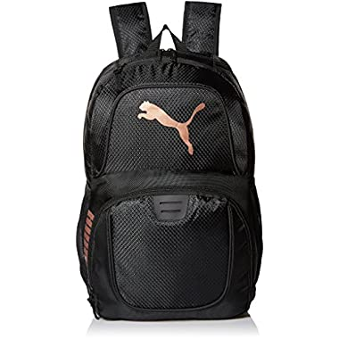 PUMA Men's Evercat Contender 3.0 Backpack, Black/Gold, One Size