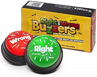 Right & Wrong Answer Buzzers (Set of 2) New & Improved