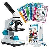 JuniorScope Microscope for Kids Microscope Science Kits for Kids Science Experiment Kits